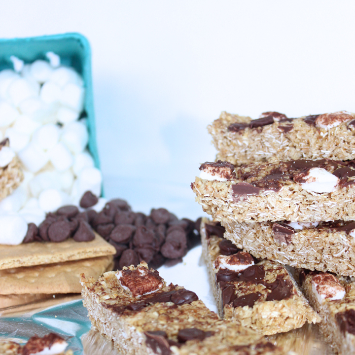 Homemade Chewy Granola Bars from Messes to Memories