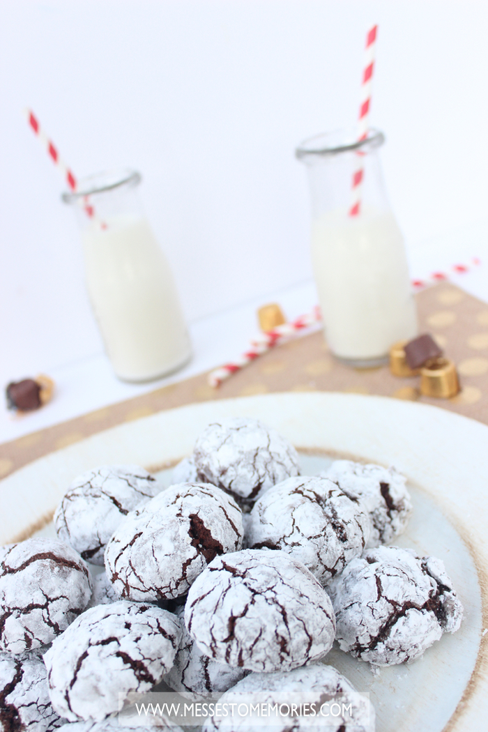 Crinkle Cookie Recipe from Messes to Memories
