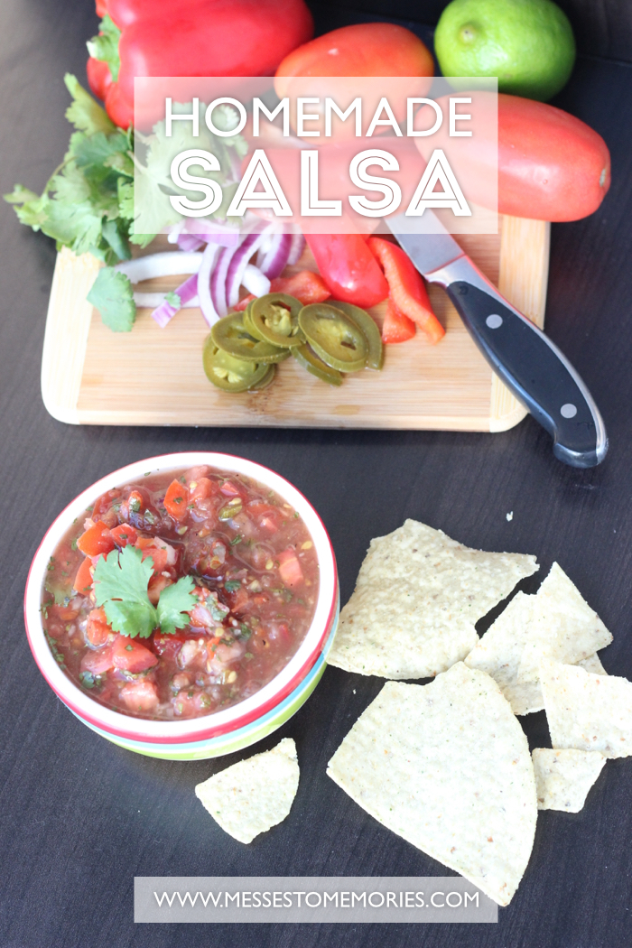 Homemade Salsa 1