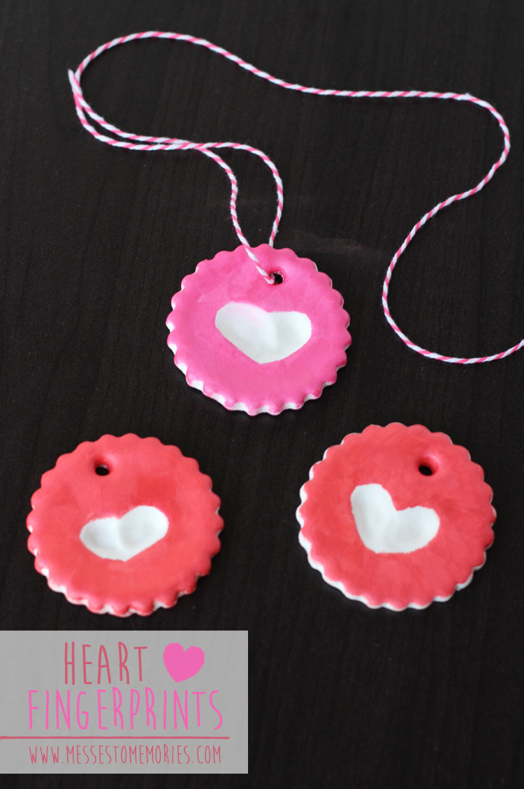 Heart Fingerprint Project--The Perfect Gift