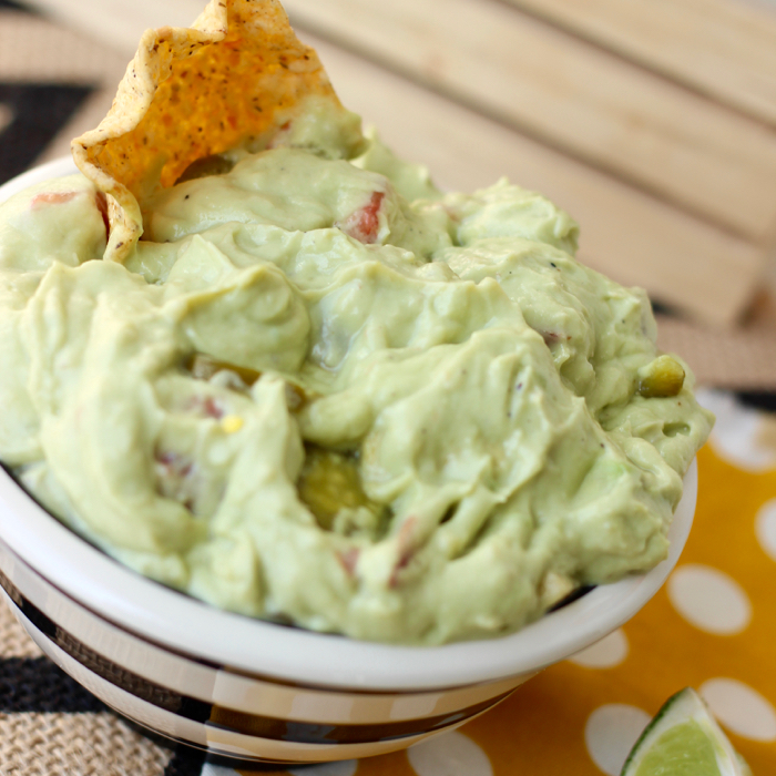 Loaded Guacamole is the perfect party dish!
