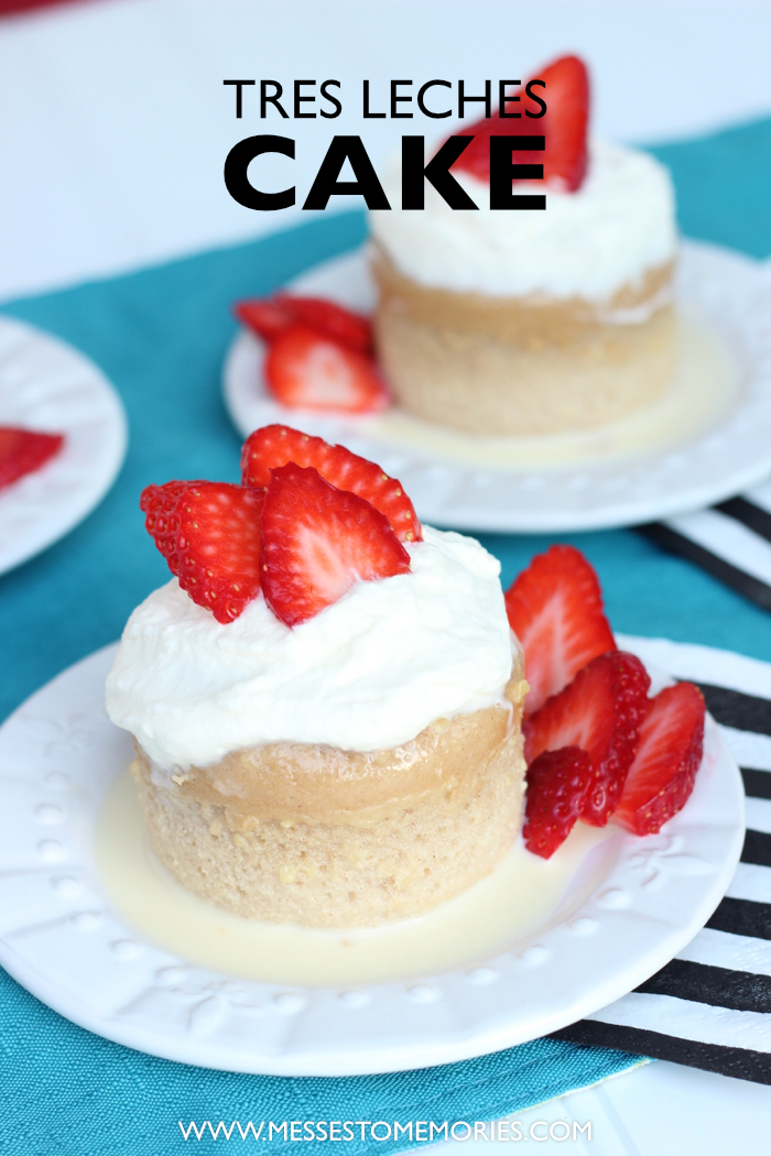 Mini Tres Leches Cakes-Perfect for a Fiesta!