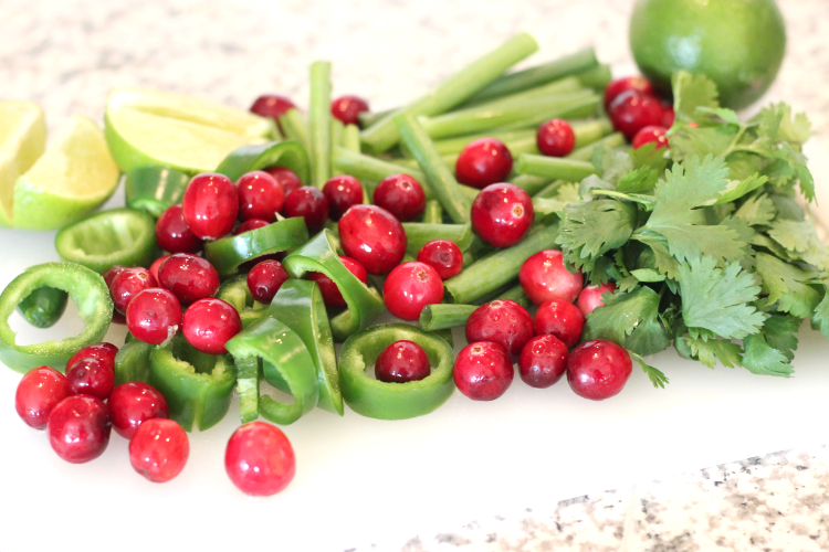 Cranberry Salsa Ingredients