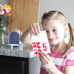VALENTINE'S DAY COUNTDOWN FOR KIDS