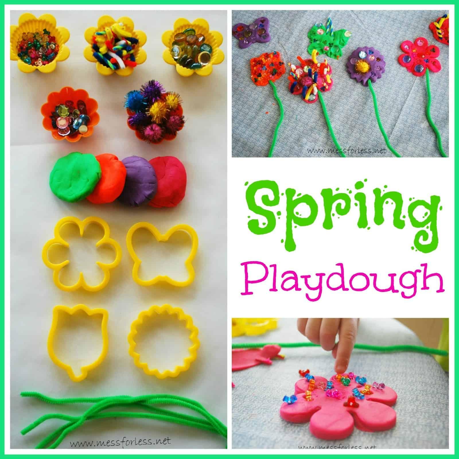 Spring Playdough