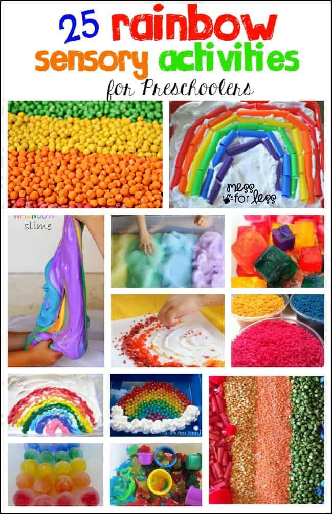 Image result for rainbow art for preschool
