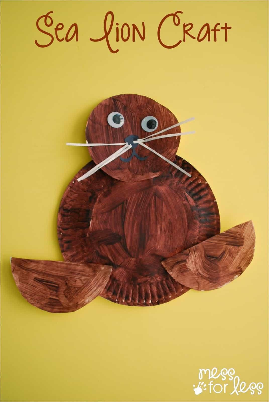 Uniquely Californian Sea Lion Craft