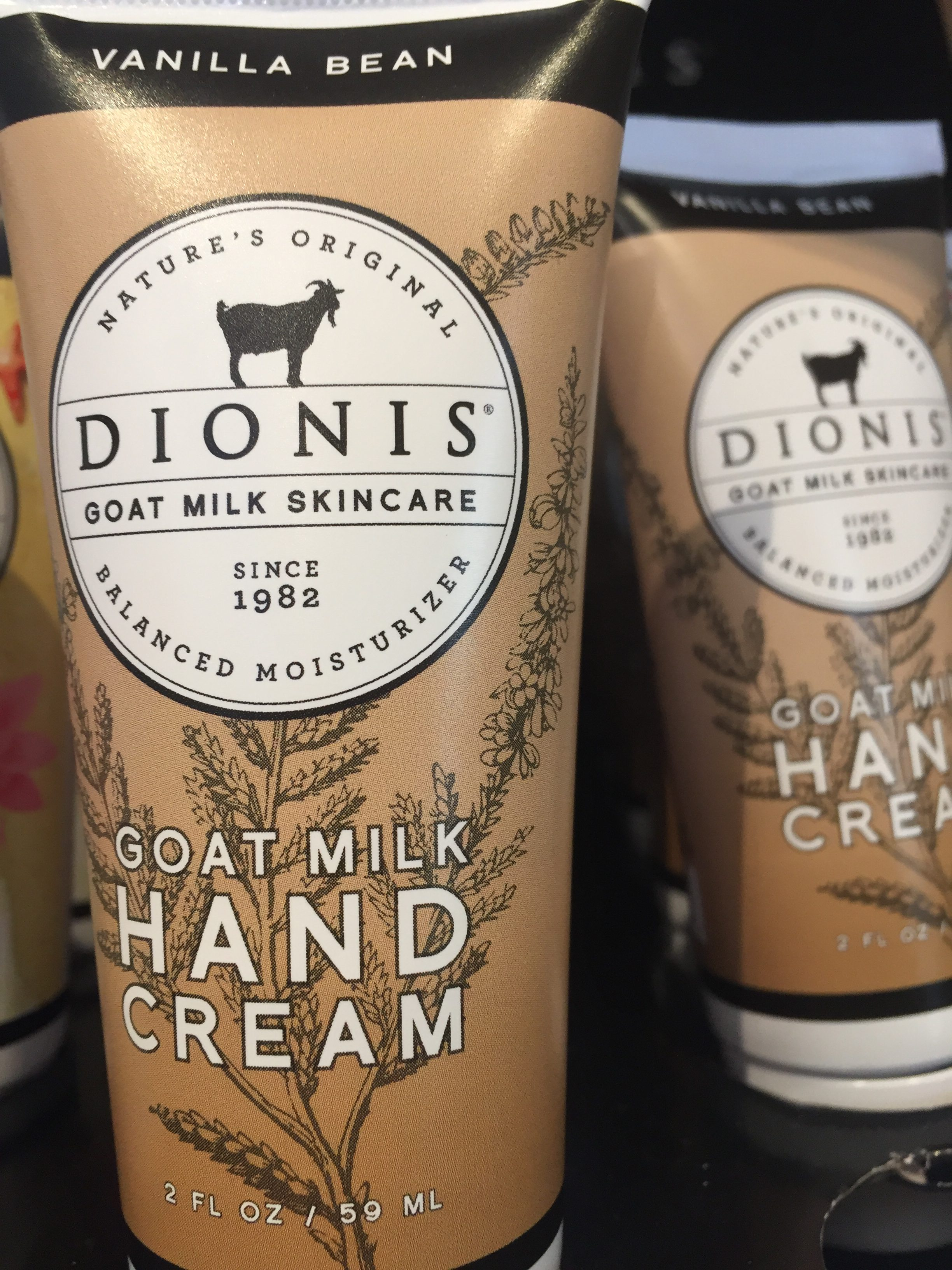 dionis goat milk lotions at messicks farms