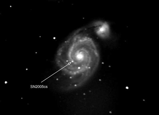 Messier 51: Whirlpool Galaxy | Messier Objects