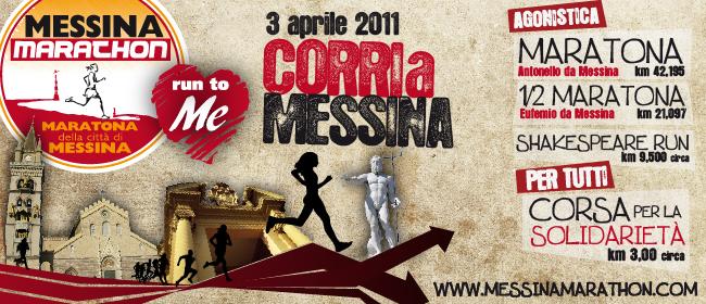 """Fervono i preparativi per la quarta """"Messina Marathon"""""""