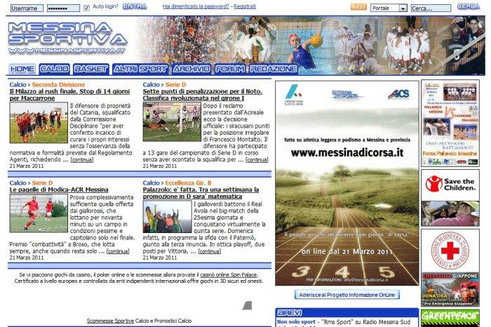 Messinasportiva.it raddoppia con un nuovo portale per l'atletica