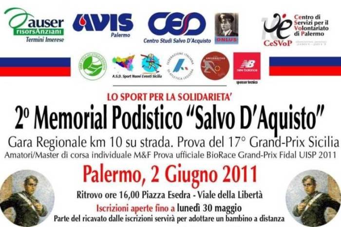 """A Palermo il 2° Memorial """"Salvo D'Acquisto"""""""