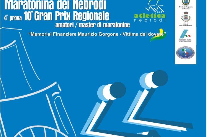 """""""Maratonina dei Nebrodi"""" il 2 ottobre a Sant'Agata Militello"""