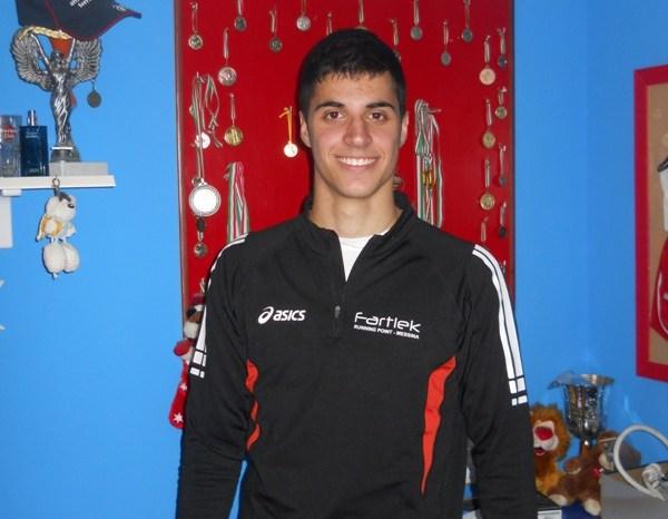Trio, atleta Fartlek: umiltà, fatica e buoni propositi