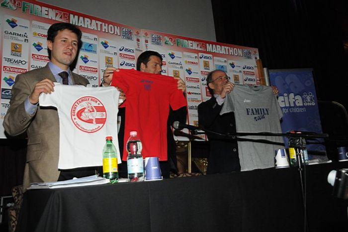 "Presentata la ""Firenze Marathon 2011"""