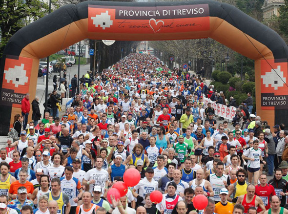 """Messina presente anche alla """"Treviso Marathon"""""""