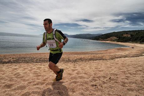 Sardinia Trail, Salaris e Collet insieme all'arrivo