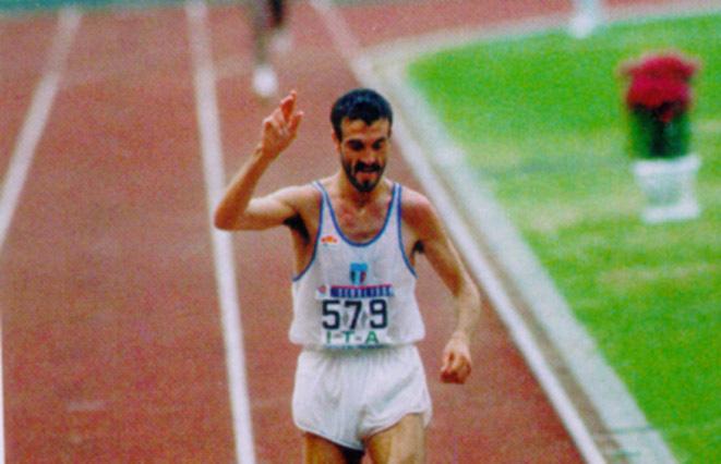"""""""Messina Marathon"""": taglio del nastro con Bordin e Mei"""