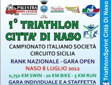 """Cresce l'attesa per il """"1° Triathlon Città di Naso"""""""