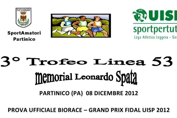 """A Partinico il """"Trofeo Linea 53-Memorial Spata"""""""