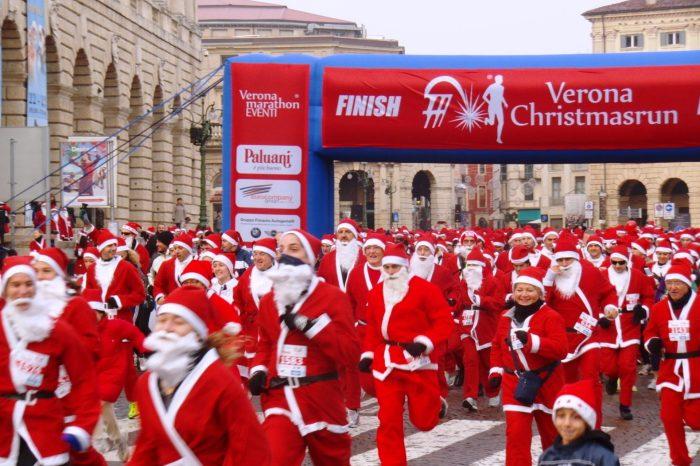 """In 2000 a Verona per la """"Christmasrun"""""""