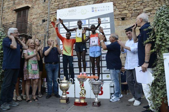 Wilson Kiprop vince il Giro di Castelbuono