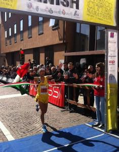 Pertile alla Unesco Cities Marathon 2013