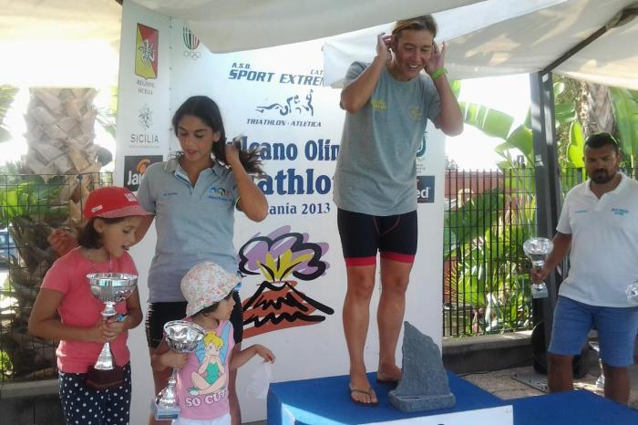Triathlon Olympic: due titoli per i messinesi