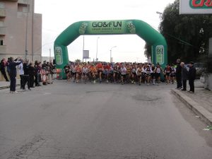 Marathon 2014 la partenza della mezza maratona