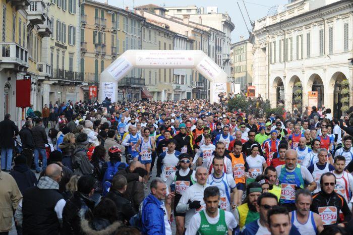 """Sport, musica e arte alla """"Brescia Marathon"""""""