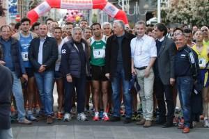 Trecastagni Star, organizzatori e atleti alla partenza