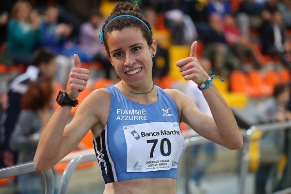 Eleonora Giorgi mondiale nei 5000 di Misterbianco