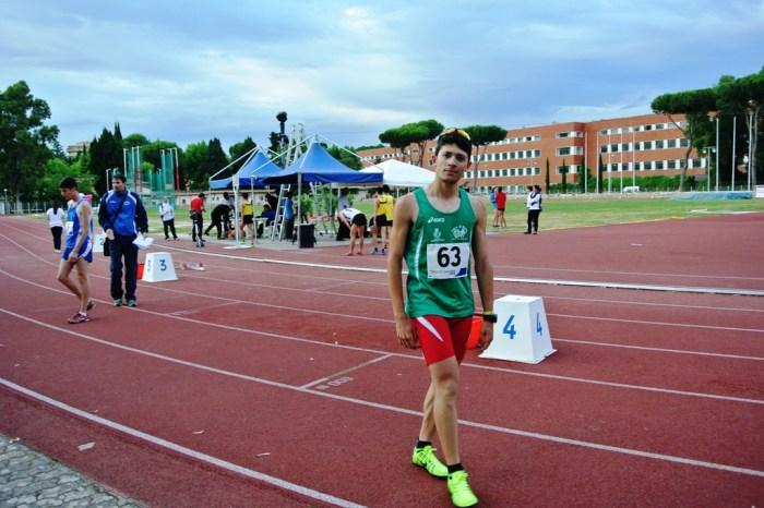 """Vincenzo Messina unico peloritano ai """"Giochi delle Isole"""""""