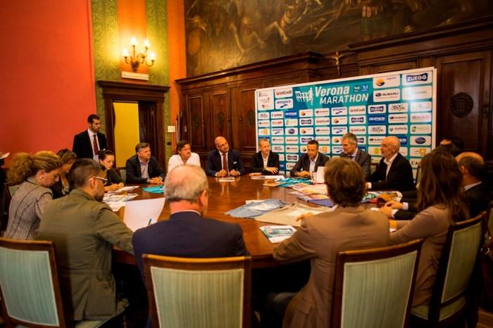 """Presentata la 13esima edizione della """"Veronamarathon"""""""