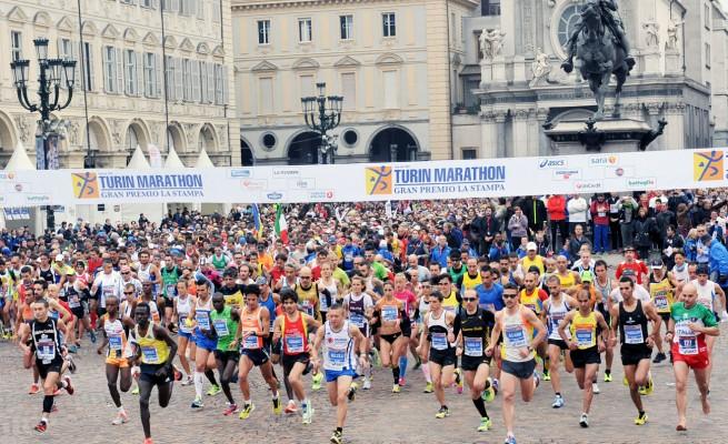 Raffaele e Francesco De Caro, maratoneti da urlo a Torino
