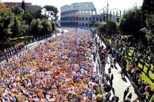 La Maratona di Roma
