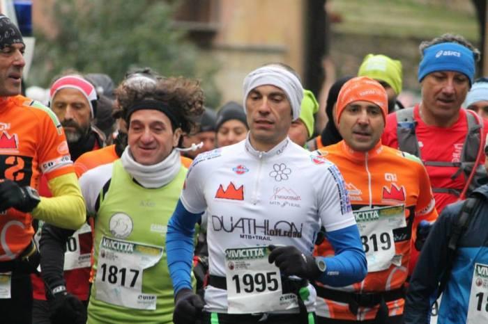 """""""Vivinatura Trail"""": Cesare e La Pera più forti di neve e nebbia"""