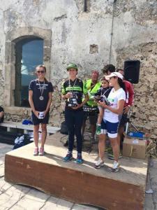 Premiazione delle tre assolute Donne Pace, Sella e Ventura