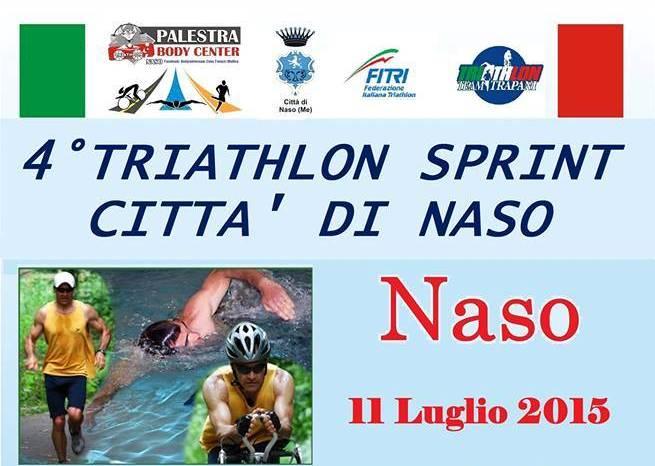 """Tutto pronto per il """"4° Triathlon Sprint Città di Naso"""""""