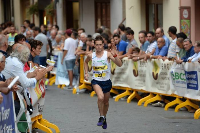 "Alessio Terrasi al via della ""Rome Half Marathon Via Pacis"""