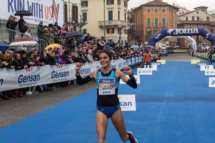 Anna Incerti seconda alla mezza di Verona