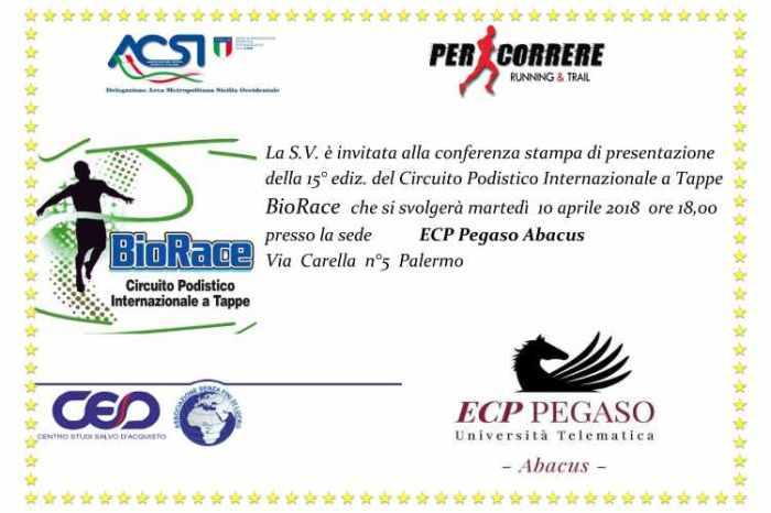 Presentazione il 10 aprile del campionato Biorace