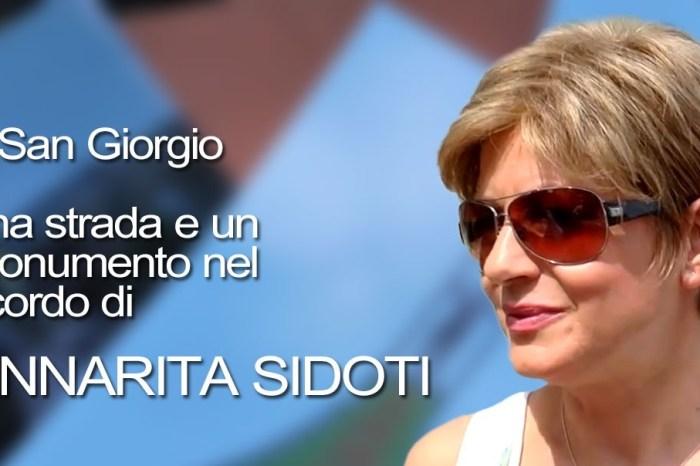 Conferenza stampa inaugurazione monumento per Anna Rita Sidoti