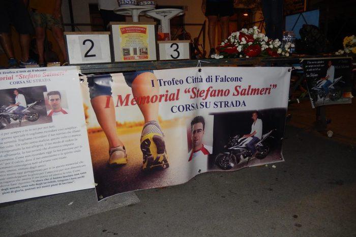 Premiazione I Memorial Stefano Salmeri - Falcone