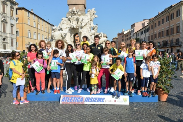Atletica Insieme con gli azzurri a Roma