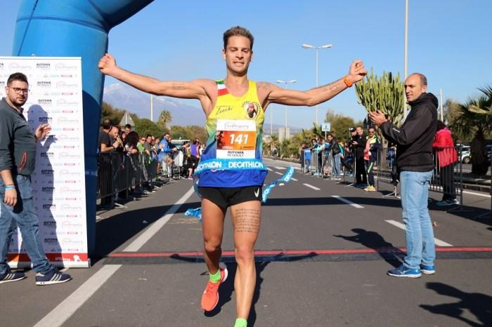 Maratona di Catania, successi di Lotti e Iwaguchi