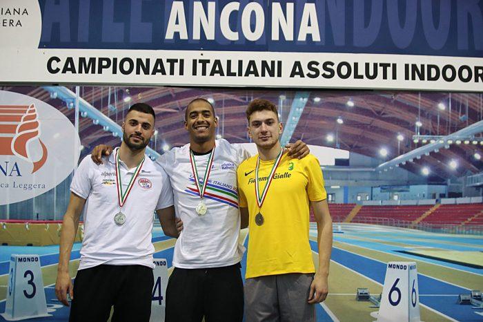 Argento per Antonio Trio agli Assoluti indoor di Ancona
