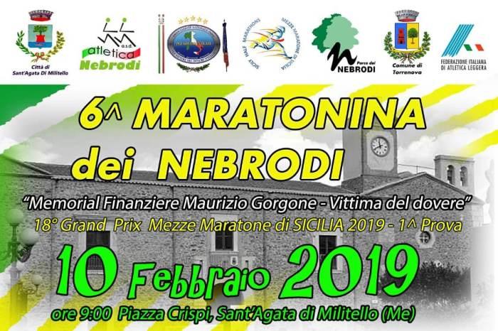 """Sono oltre 700 gli iscritti alla """"Maratonina dei Nebrodi"""""""