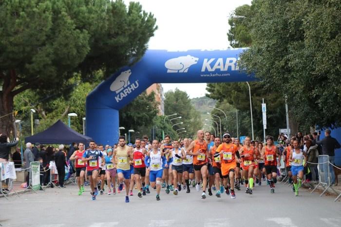 """Brindisi di Abbate e La Barbera alla """"6^ Maratonina del Golfo"""""""