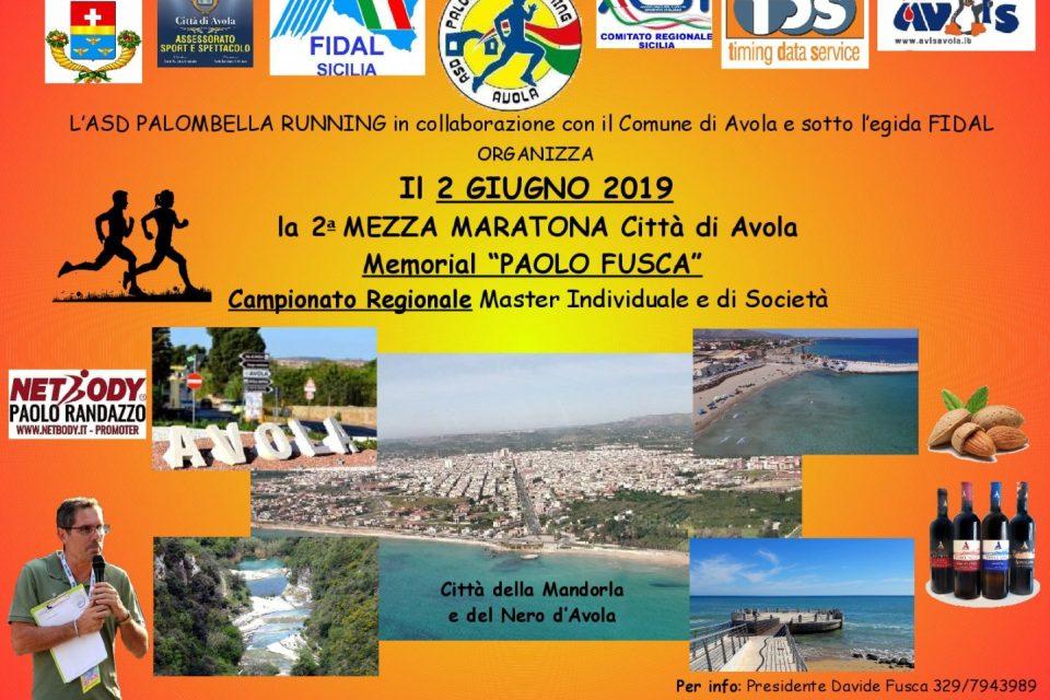 Il 2 giugno la Mezza Maratona Città di Avola